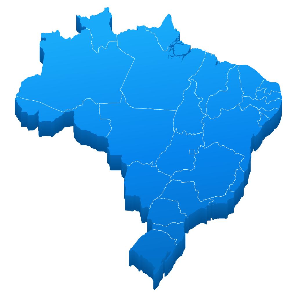 mapa fbt brasil